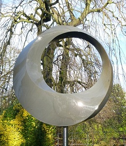 Jim Milner Geometric Sculpture Möbius VI