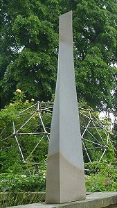 Jim Milner Geometric Sculpture Obelisk 6