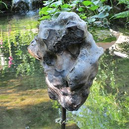 jim milner stone sculpture - flint
