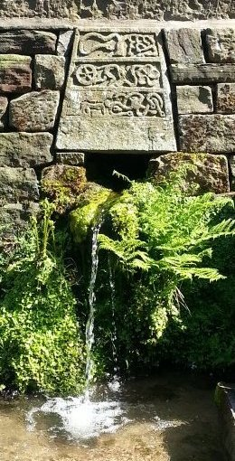 jim milner garden waterfall stone sculpture
